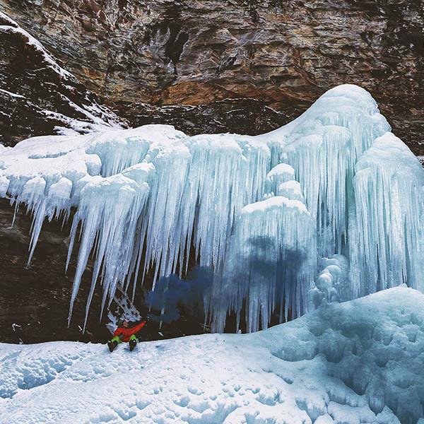ice climbing in banff ski experience