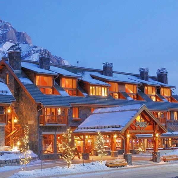 Banff Ski Experience Fox hotel