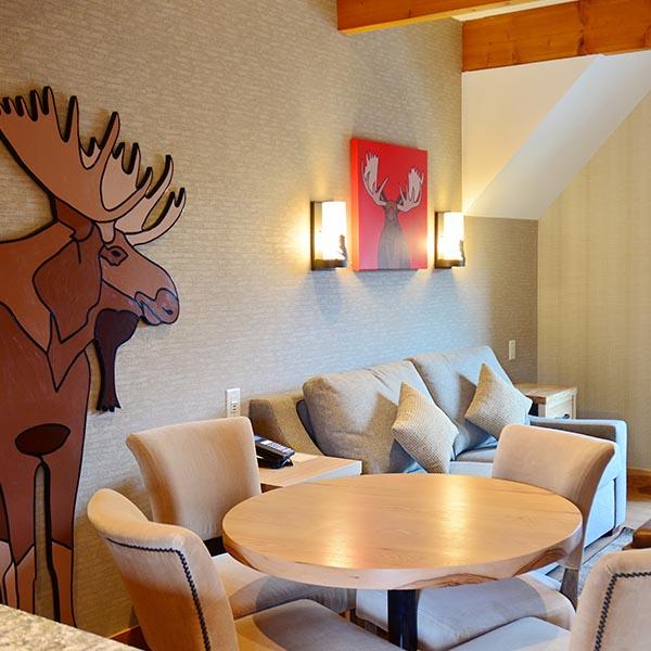 Banff Ski Experience Moose
